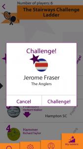 2 Challenge popup